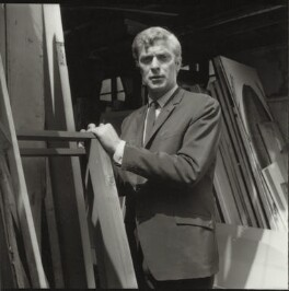 Michael Caine, by Francis Goodman, July 1965 - NPG x87460 - © National Portrait Gallery, London