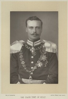 Ernest Ludwig, Grand Duke of Hesse and by Rhine, by W. & D. Downey, published by  Cassell & Company, Ltd - NPG x8747