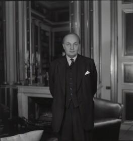 (Hubert Miles) Gladwyn Jebb, 1st Baron Gladwyn, by Francis Goodman - NPG x87491
