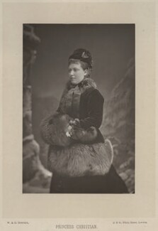Princess Helena Augusta Victoria of Schleswig-Holstein, by W. & D. Downey, published by  Cassell & Company, Ltd - NPG x8750