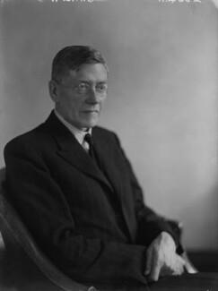 Sir (James) Alan Noel Barlow, 2nd Bt, by Walter Stoneman - NPG x8758
