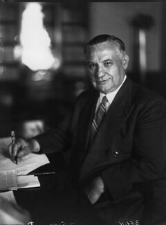 Ernest Bevin, by Walter Stoneman - NPG x8768