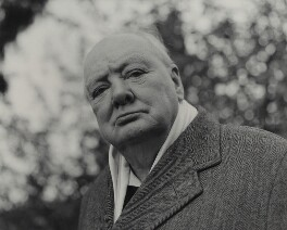 Winston Churchill, by Elsbeth R. Juda - NPG x87830