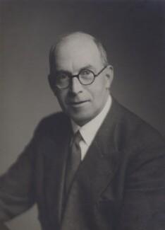 Sir (John) Goronwy Edwards, by Walter Stoneman - NPG x88057