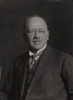 William Taylor, by Walter Stoneman - NPG x88103
