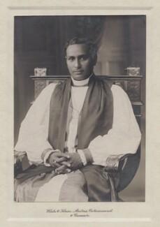 Vedanayakam Samuel Azariah, by Wiele & Klein, circa 1912 - NPG x8841 - © National Portrait Gallery, London
