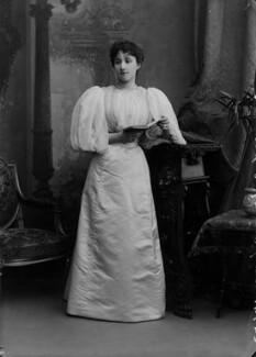 Rachel (née Gurney), Countess of Dudley, by Alexander Bassano - NPG x8857