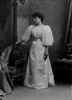 Rachel (née Gurney), Countess of Dudley, by Alexander Bassano - NPG x8858