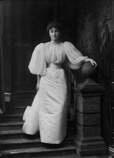Rachel (née Gurney), Countess of Dudley, by Alexander Bassano - NPG x8860