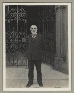John Elliott Burns, by Benjamin Stone - NPG x8922