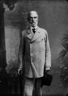 Alan Frederick Cathcart, 3rd Earl Cathcart, by Alexander Bassano - NPG x8939