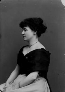 Hon. Lilian Janet (née Macdonald), Countess of Cromartie, by Alexander Bassano - NPG x8965