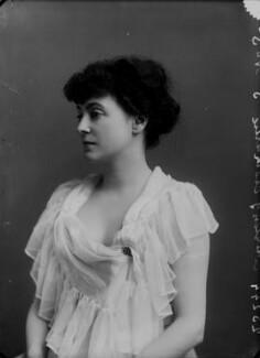 Hon. Lilian Janet (née Macdonald), Countess of Cromartie, by Alexander Bassano - NPG x8966