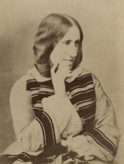 George Eliot (Mary Ann Cross (née Evans)), by London Stereoscopic & Photographic Company,  - NPG x9049 - © National Portrait Gallery, London