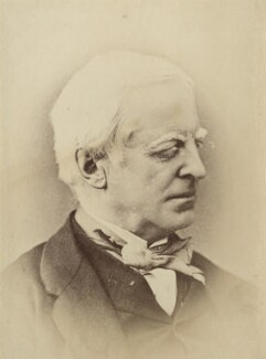 Robert Lowe, 1st Viscount Sherbrooke, by Unknown photographer - NPG x9066