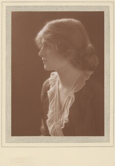 Dame Gladys Cooper, by Claude Harris - NPG x9075