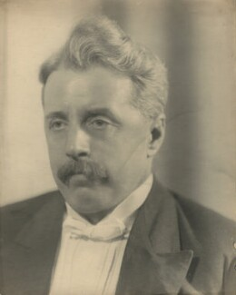 Arnold Bennett, by Claude Harris - NPG x9080