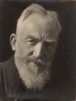 George Bernard Shaw, by Claude Harris - NPG x9089