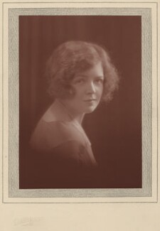 Lady Megan Arfon Lloyd George, by Claude Harris - NPG x9092