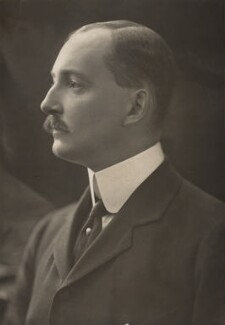 Giles Stephen Holland Fox-Strangways, 6th Earl of Ilchester, by H. Walter Barnett - NPG x45288