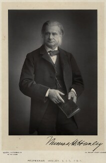 Thomas Henry Huxley, by Walery, published by  Sampson Low & Co - NPG x9139
