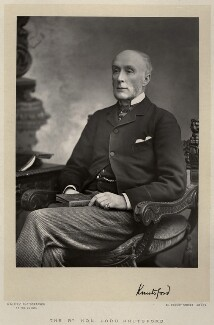 Henry Thurstan Holland, 1st Viscount Knutsford, by Walery, published by  Sampson Low & Co - NPG x9140