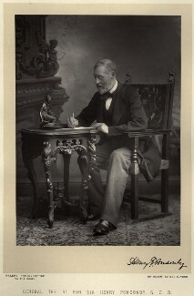 Sir Henry Frederick Ponsonby, by Walery, published by  Sampson Low & Co - NPG x9164