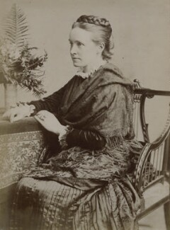 Dame Millicent Garrett Fawcett (née Garrett), by Unknown photographer, 1880s - NPG x9199 - © National Portrait Gallery, London