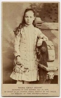 Mabel Emily Besant-Scott (née Besant), by Unknown photographer - NPG x921