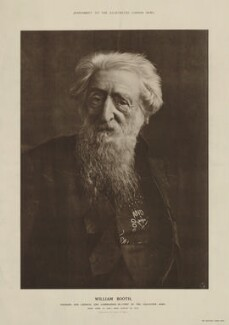 William Booth, after E.H. Mills,  - NPG x9213 - © National Portrait Gallery, London