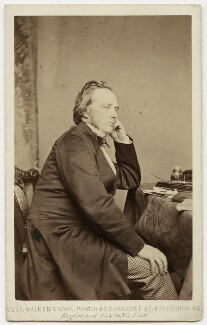 George Douglas Campbell, 8th Duke of Argyll, by William Walker & Sons, 1863 - NPG x93 - © National Portrait Gallery, London