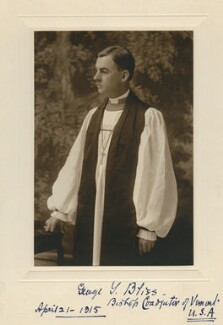 George Yemens Bliss, by Unknown photographer - NPG x9465