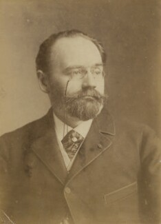Émile Zola, by Unknown photographer - NPG x9477