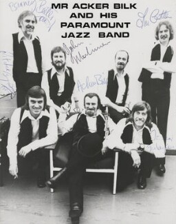 Acker Bilk and his Paramount Jazz Band, by Unknown photographer - NPG x952