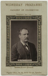 John Billington, published by Figaro Office - NPG x953