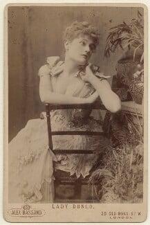 Belle Bilton, by Alexander Bassano - NPG x957