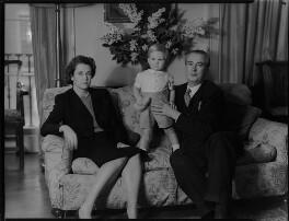 Lady Moyra Blanche Madeleine Browne (née Ponsonby); Desmond John Michael Browne; Sir Denis John Wolko Browne, by Navana Vandyk - NPG x97181