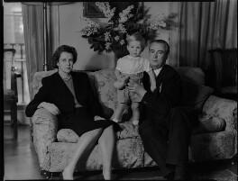 Lady Moyra Blanche Madeleine Browne (née Ponsonby); Desmond John Michael Browne; Sir Denis John Wolko Browne, by Navana Vandyk - NPG x97183
