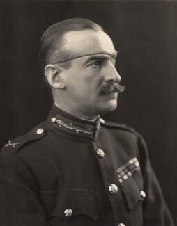 Sir Adrian Carton de Wiart, by H. Walter Barnett - NPG x45411