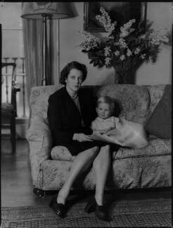 Lady Moyra Blanche Madeleine Browne (née Ponsonby; Desmond John Michael Browne, by Navana Vandyk - NPG x97187