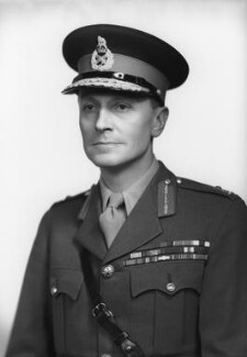 Sir Nevil Charles Dowell Brownjohn, by Navana Vandyk - NPG x97390