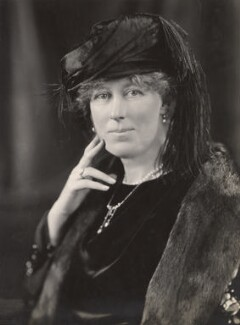 Frances Charlotte (née Guest), Viscountess Chelmsford, by H. Walter Barnett - NPG x45413