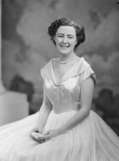 Lady Fiona Mary Hannon (née Graham), by Navana Vandyk - NPG x97540