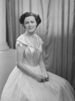 Lady Fiona Mary Hannon (née Graham), by Navana Vandyk - NPG x97541