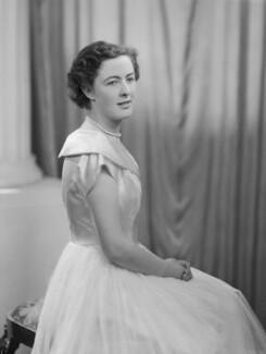 Lady Fiona Mary Hannon (née Graham), by Navana Vandyk - NPG x97542
