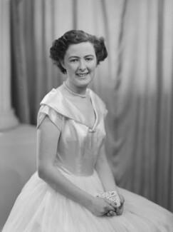 Lady Fiona Mary Hannon (née Graham), by Navana Vandyk - NPG x97543