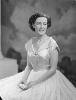 Lady Fiona Mary Hannon (née Graham), by Navana Vandyk - NPG x97546