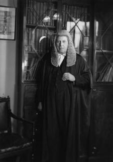 Sir Leslie Cecil Blackmore Bowker, by Navana Vandyk - NPG x97585
