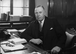 Sir Leslie Cecil Blackmore Bowker, by Navana Vandyk - NPG x97588