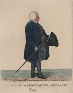 Samuel Horsley ('A trip from Rochester to St Asaph'), by and published by Robert Dighton, published December 1802 - NPG  - © National Portrait Gallery, London